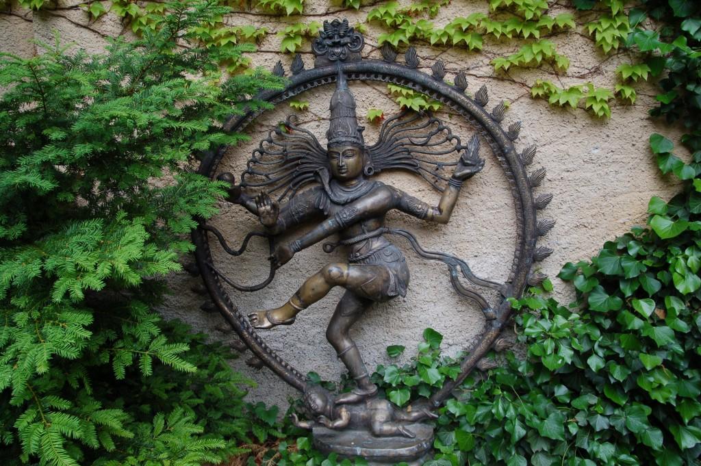 Skulptur in schloss juval
