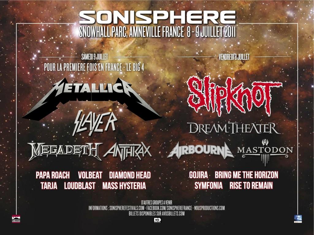 Sonisphere Fetsival 2011